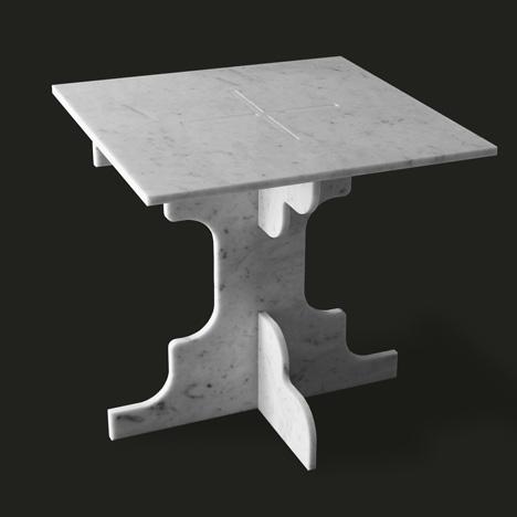 40×40 大理石家具 - 大好设计河山
